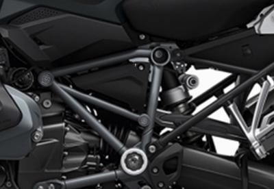 Set n. 7 rack covers R 1200/1250 GS LC Grijs - zwart