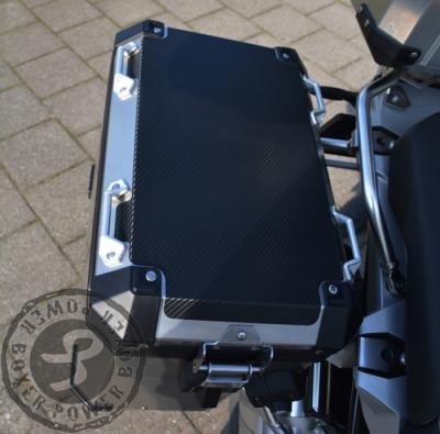GSA LC Kofferdeksel bescherming MAT ZWART