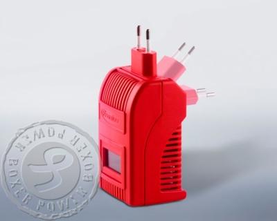 apparaat kan op verschillende manieren in wandcontactdoos geplugd worden