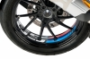 Velgsticker GS M Motorsport kleuren
