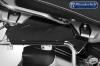 spatscherm bagagerek - aluminium koffer