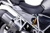 Side cover panels Puig (set) grijs BMW R1200GS LC 2013-