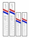 GSA HP Kofferstickers reflecterend