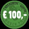 Cadeaubon €100