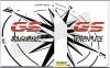 Wereldkaart kompas stickers zijkoffers GSA LC set 2